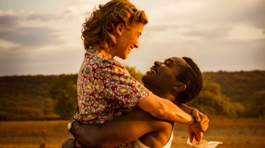 Forbidden love: Rosamund Pike and David Oyelowo in <i>A United Kingdom</i>.