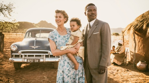 Rosamund Pike and David Oyelowo in <i>A United Kingdom</i>.