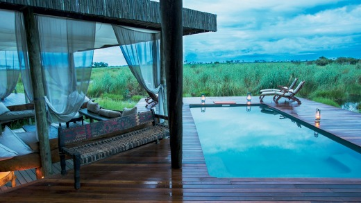 Savannah luxury: Selinda Camp.